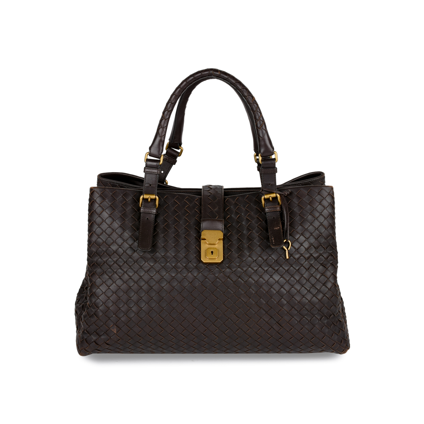 Authentic Second Hand Bottega Veneta Intrecciato Roma Tote (PSS-414-00005)   aa6be5816f511