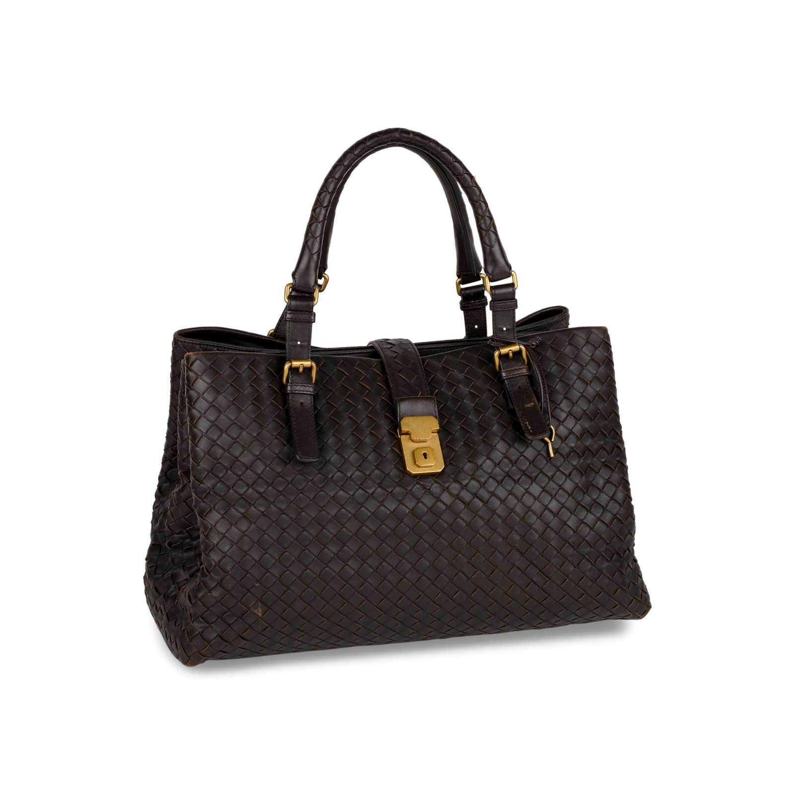 efe6a026b3 ... Authentic Second Hand Bottega Veneta Intrecciato Roma Tote  (PSS-414-00005) ...