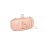 Authentic Pre Owned Marchesa Silk Satin Organza Clutch (PSS-414-00003) - Thumbnail 1