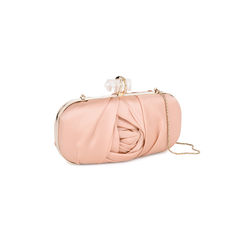 Marchesa silk satin organza clutch 2?1521438686