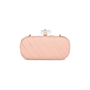 Authentic Pre Owned Marchesa Silk Satin Organza Clutch (PSS-414-00003) - Thumbnail 2