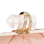 Authentic Pre Owned Marchesa Silk Satin Organza Clutch (PSS-414-00003) - Thumbnail 4