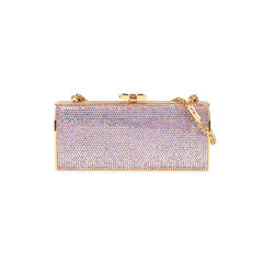 Crystal Embellished Rectangular Clutch