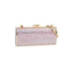 Judith leiber crytal embellished rectangular clutch 2?1521438782