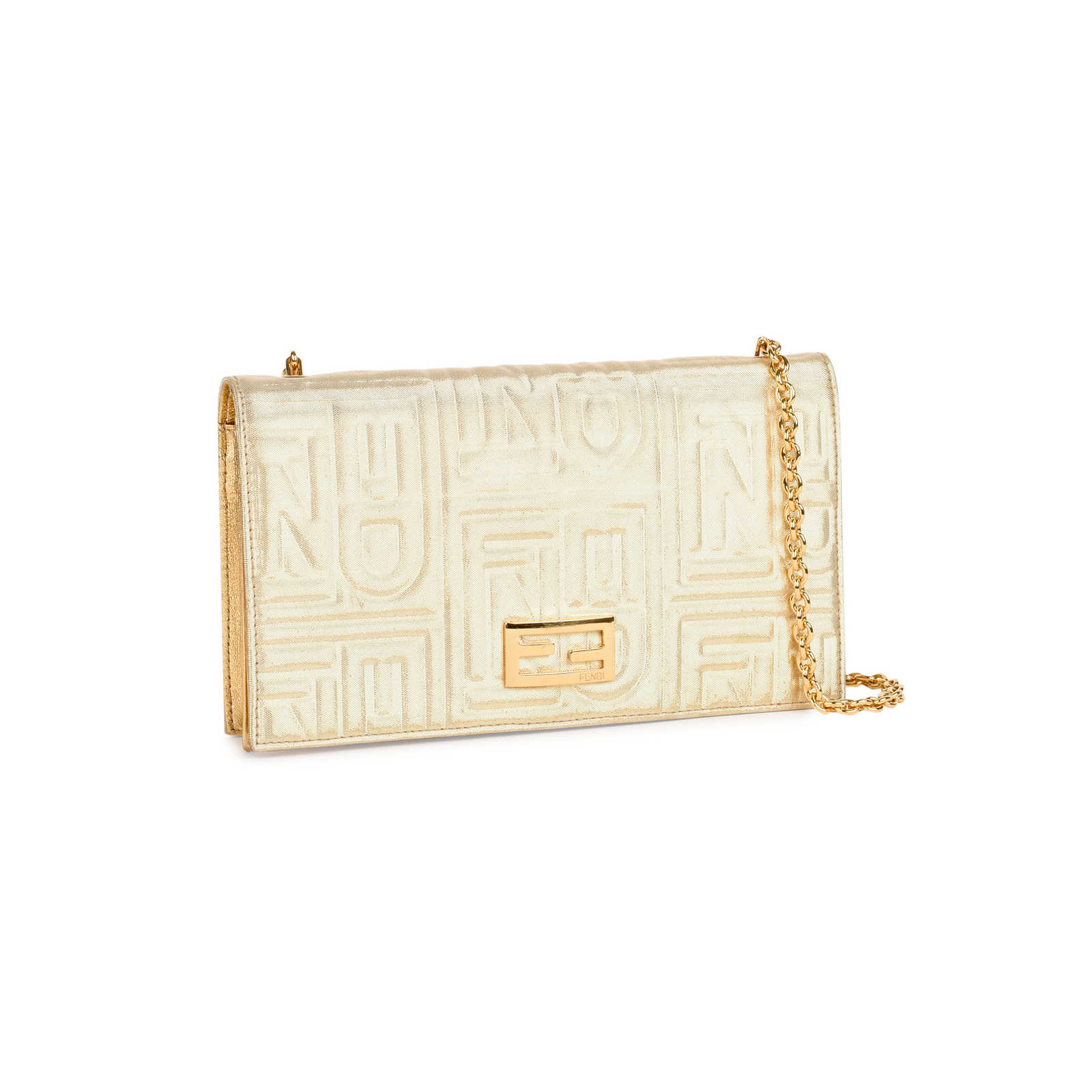 289f76c54d2f ... Authentic Second Hand Fendi Embossed Wallet on Chain Bag  (PSS-459-00004) ...
