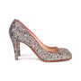 Authentic Second Hand Christian Louboutin Glitter Ron Ron 85 Pumps (PSS-459-00009) - Thumbnail 3