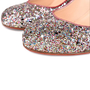 Authentic Second Hand Christian Louboutin Glitter Ron Ron 85 Pumps (PSS-459-00009) - Thumbnail 5