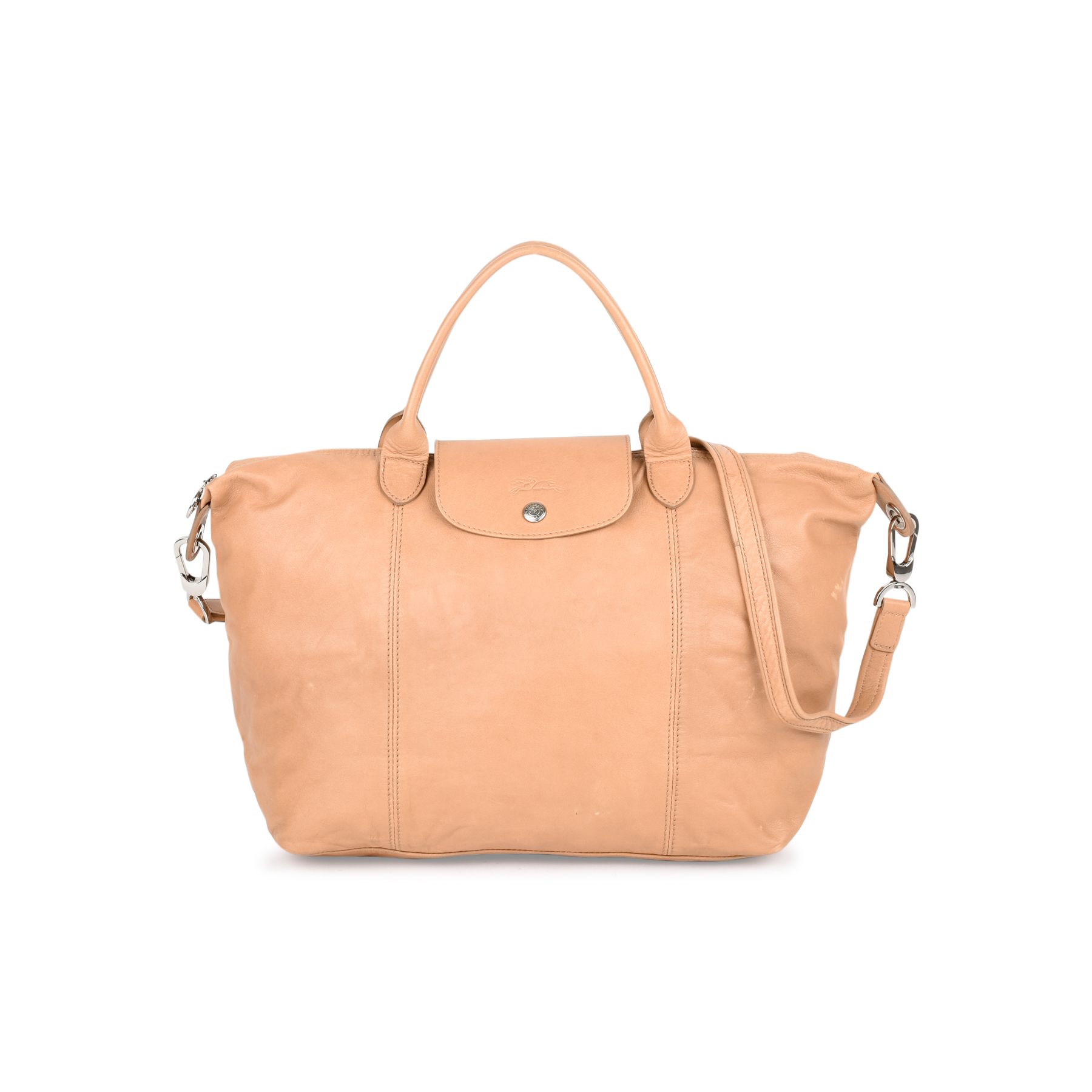 e3278b450bcf Authentic Second Hand Longchamp Le Pliage Cuir (PSS-460-00006)