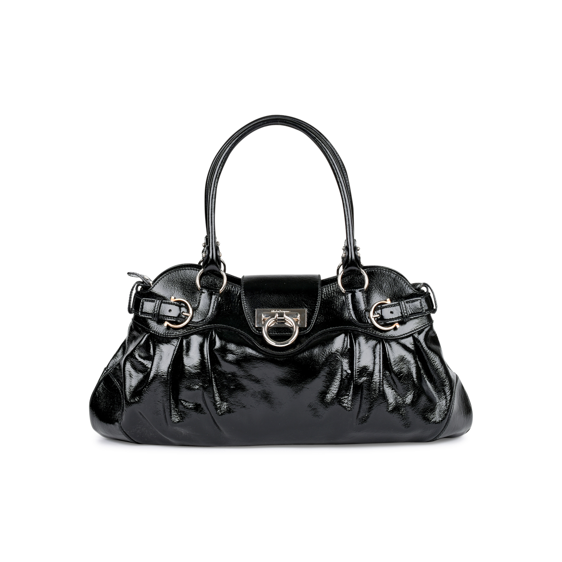 b21c2d61bf15 Authentic Second Hand Salvatore Ferragamo Marisa Shoulder Bag  (PSS-460-00009)