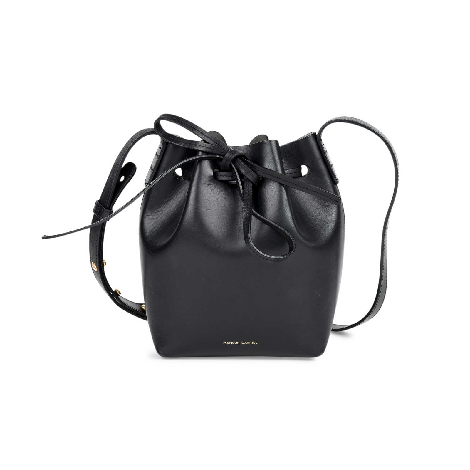aa5566d27ad94 Authentic Second Hand Mansur Gavriel Mini Mini Bucket Bag (PSS-460-00011)  ...