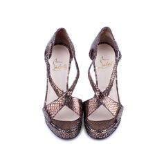 Python Criss Cross Sandals