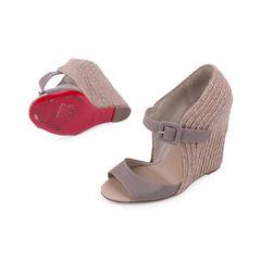 Christian louboutin panier wedge sandals 2?1521610173