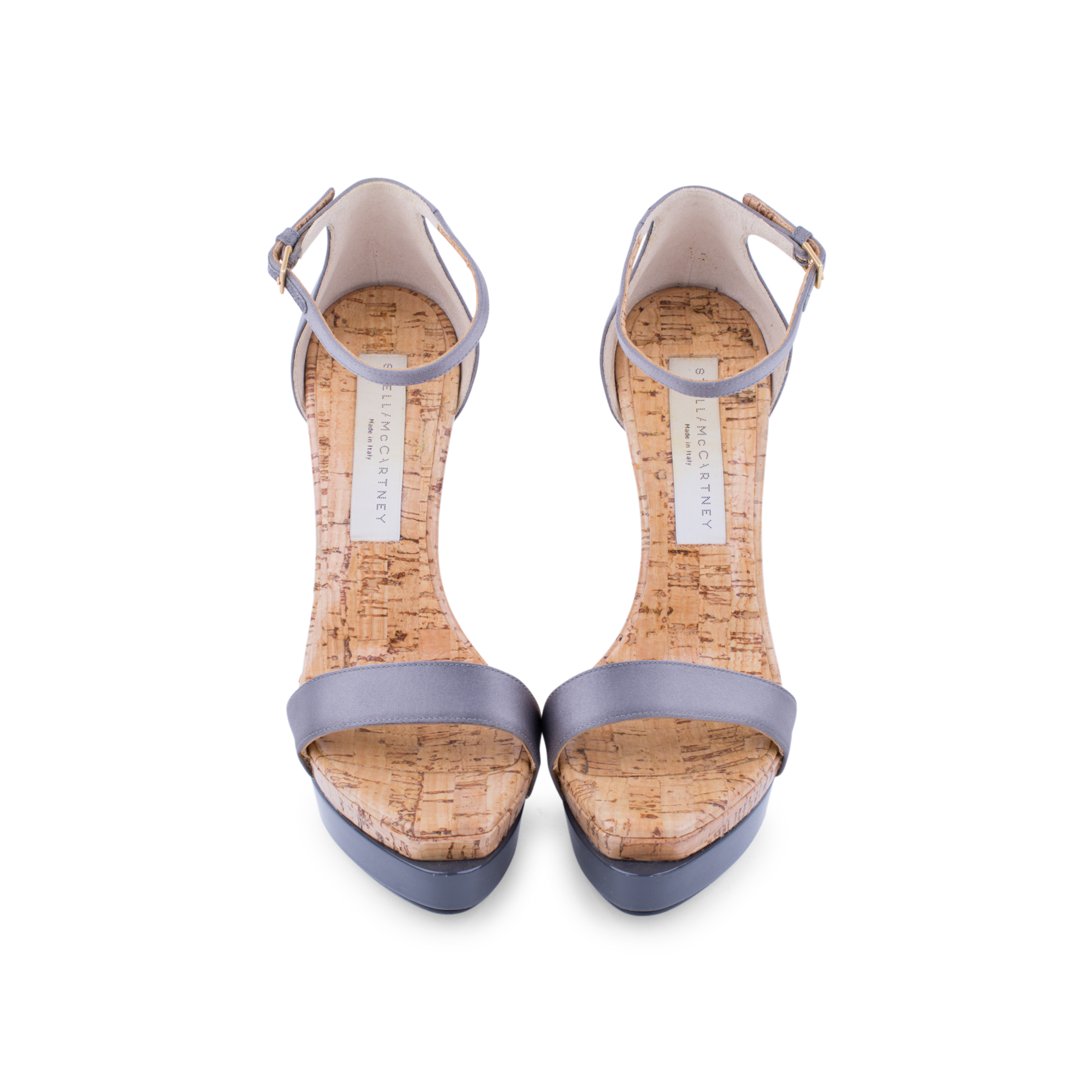 23f4cfd80a3 Authentic Second Hand Stella McCartney Cork Platform Sandals  (PSS-080-00220)