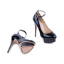Authentic Second Hand Charlotte Olympia Patent Dolly Pumps (PSS-080-00230) - Thumbnail 5