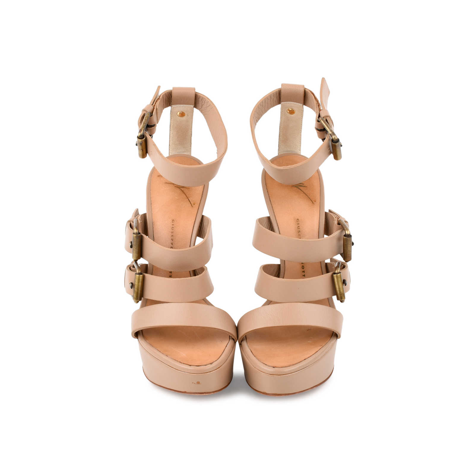 3fb0f4d93702 Authentic Second Hand Giuseppe Zanotti Strappy Buckle Sandals (PSS-080-00214)  ...