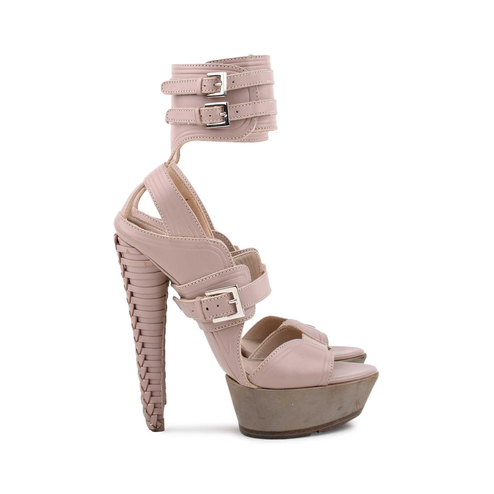 5e41bd96608 ... Authentic Second Hand Salvatore Ferragamo Braided Platform Sandal (PSS- 080-00221) ...