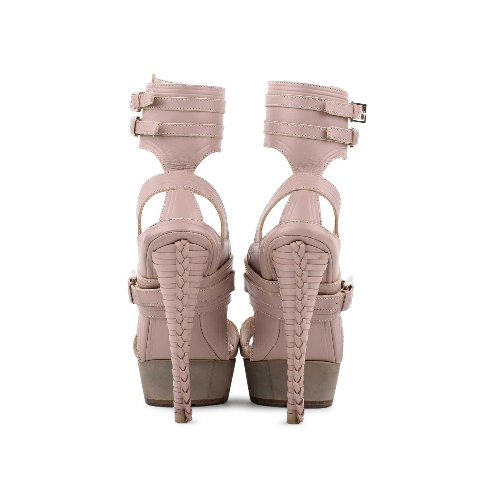 884d5d7a631 ... Authentic Second Hand Salvatore Ferragamo Braided Platform Sandal (PSS- 080-00221) -