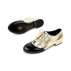 Chanel lace up oxford shoes 3?1521613819