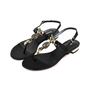 Authentic Second Hand Luciano Barachini Jewelled Fox Sandals (PSS-200-01267) - Thumbnail 2