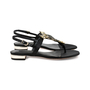 Authentic Second Hand Luciano Barachini Jewelled Fox Sandals (PSS-200-01267) - Thumbnail 1