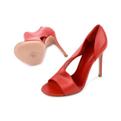 Gianvito rossi red cutout sandals 2?1521614043