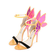 Sophia webster chiara butterfly wing sandal in fuchsia 4?1521690779