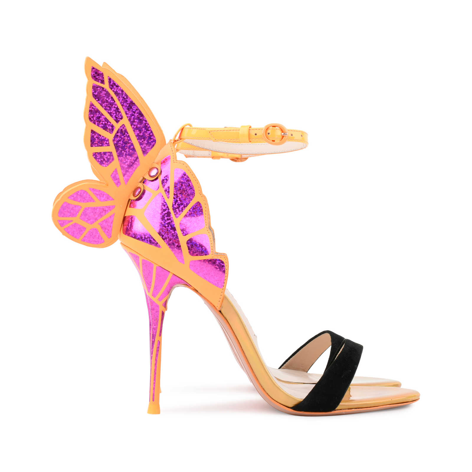 9422486794265 ... Authentic Second Hand Sophia Webster Chiara Butterfly Wing Sandals  (PSS-080-00226) ...