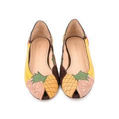 Tutti Frutti Peep Toe Flats