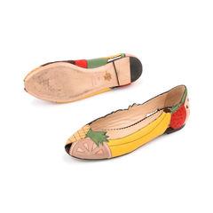 Charlotte olympia tutti fruitti peep toe flats 2?1521690615
