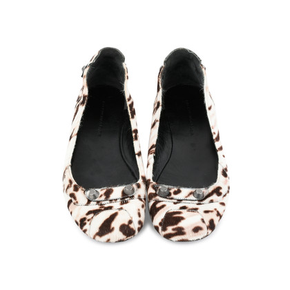 cheap sale perfect clearance pictures Balenciaga Cheetah Print Ponyhair Flats discount store cheap sale cost footaction for sale RzTPw