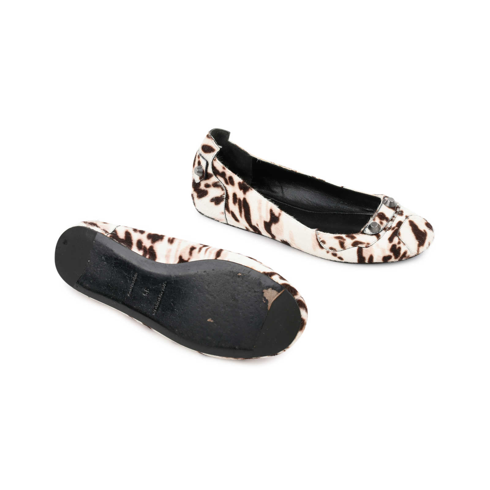 Balenciaga Ponyhair Arena Flats Clearance Shop Best Place Cheap Price Huge Range Of NA16FPty