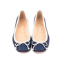 Authentic Second Hand Christian Louboutin Canvas Rosella Flats (PSS-080-00253) - Thumbnail 0