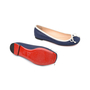 Authentic Second Hand Christian Louboutin Canvas Rosella Flats (PSS-080-00253) - Thumbnail 2