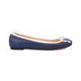 Authentic Second Hand Christian Louboutin Canvas Rosella Flats (PSS-080-00253) - Thumbnail 4