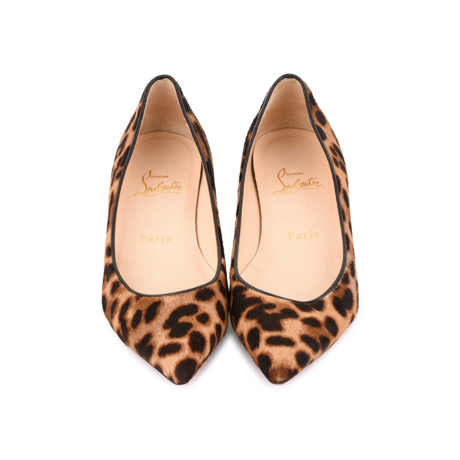 official photos 50b05 a3360 Authentic Second Hand Christian Louboutin Leopard Pigalle ...