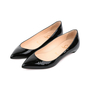 7ea8bd6e8549 ... Authentic Second Hand Christian Louboutin Patent Pigalle Flats (PSS-080- 00259) ...