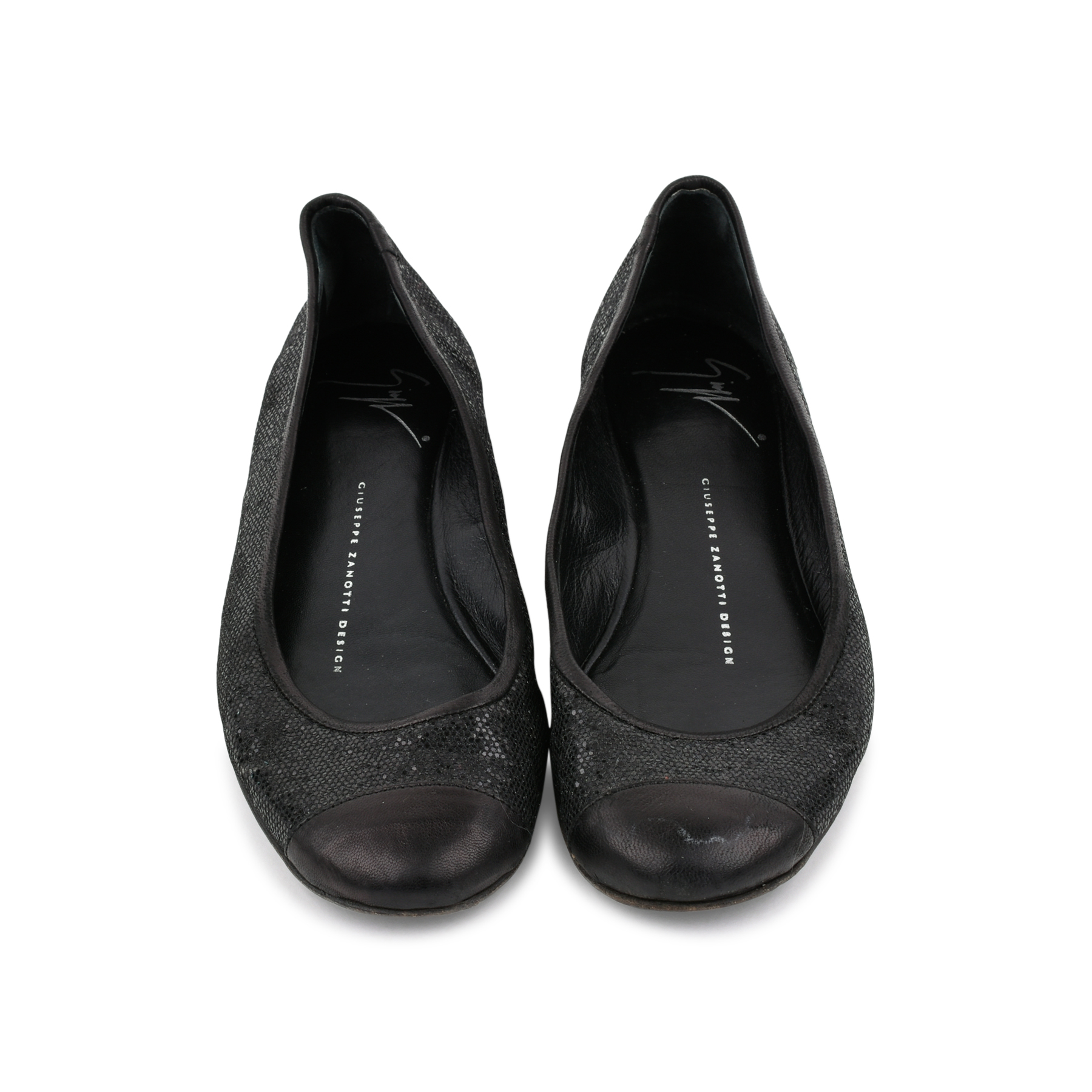 44ade2fe72 Authentic Second Hand Giuseppe Zanotti Sparkle Ballet Flats (PSS-080-00283)  - THE FIFTH COLLECTION