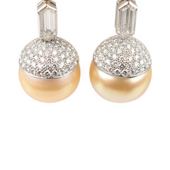 Sabina barone pearl drop pierced earrings 2?1521779439