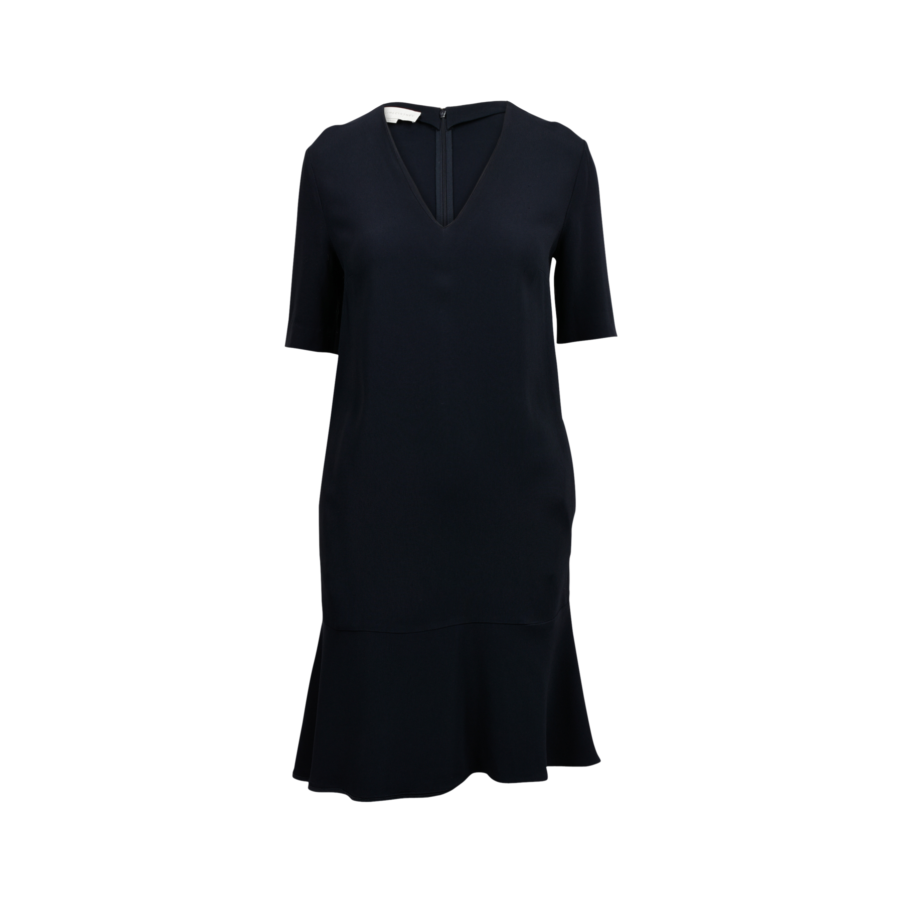 92c80df94d68 Authentic Second Hand Stella McCartney Ruffled Hem Dress (PSS-132-00116) |  THE FIFTH COLLECTION
