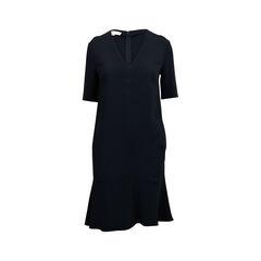 Ruffled Hem Dress