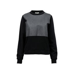 Coated Panel Fleece Sweater