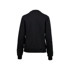 Balenciaga coated panel fleece sweater 2?1522128498