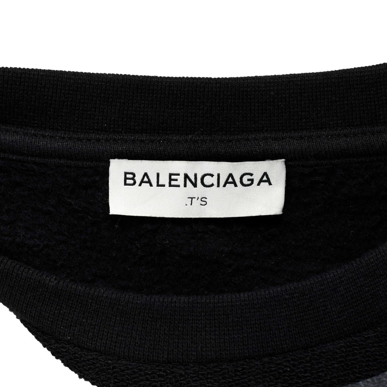68e9505a5fbe6 ... Authentic Second Hand Balenciaga Coated Panel Fleece Sweater  (PSS-459-00016) -