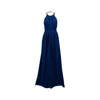 Authentic Second Hand Aijek Saying Goodbye Pleated Maxi Dress (PSS-459-00011)