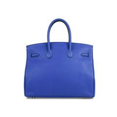 Hermes bleu electrique birkin 35 11