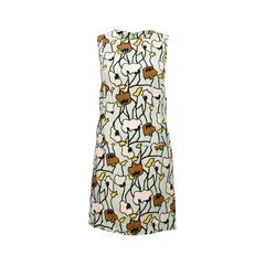 Abtract Floral Printed Dress