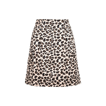 Authentic Second Hand Marc by Marc Jacobs Leopard Mini Skirt (PSS-071-00157)