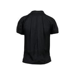 Balenciaga black button up shirt 2?1522309382