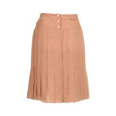 Chanel silk midi skirt 2?1522309447