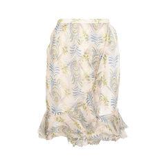 Sheer Trumpet Skirt